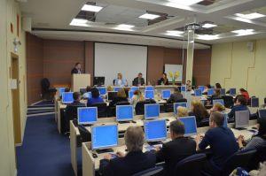 Слушатели на занятиях, конференцзал на ул. Генерала Штеменко д.5